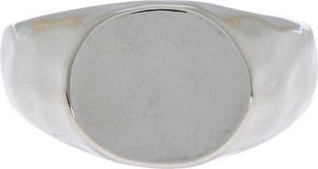 Кованое кольцо с печаткой Nordstrom Rack