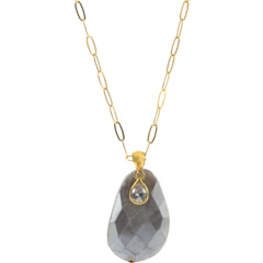 Silverite Pendant Necklace Chan Luu