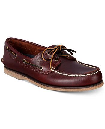 Мужские классические ботинки лодок Timberland
