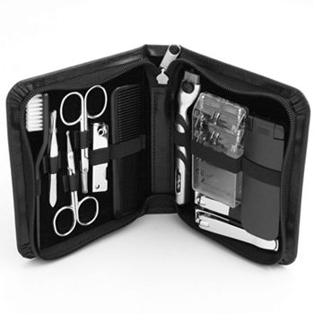 11-pc. Manicure& Shave Set Bey-Berk