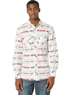 Рубашка на кнопках с длинным рукавом с принтом B2S7080 Rock and Roll Cowboy