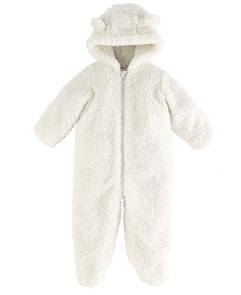 Флисовый комбинезон с капюшоном для маленьких мальчиков или девочек, созданный для Macy's First Impressions
