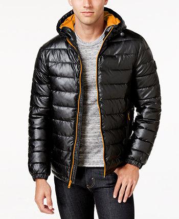 Мужское пальто из искусственной кожи Cole Haan