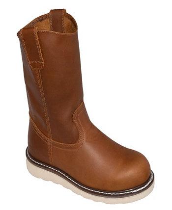 Мужские ботинки на молнии с композитным носком и без застежки на молнии AdTec