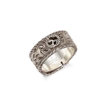 Sterling Silver Gucci Garden Ring GUCCI