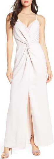 Платье без рукавов с кружевной отделкой Harlyn