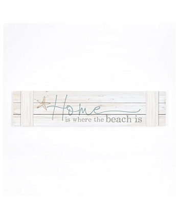 Home Is Where The Beach Is Wall Art P Graham Dunn