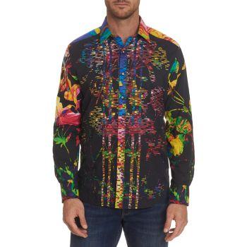 Robert Graham Adamaris Sleeveless Silk Top Multicolor