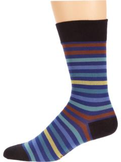 Тонированный полосатый носок Falke