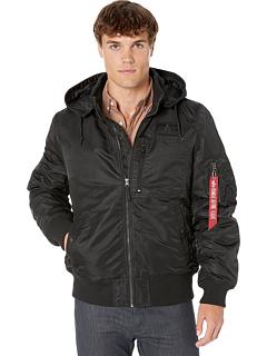 MA-1 Куртка-пилот с капюшоном Alpha Industries