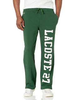 Спортивные штаны с надписью на нижнем белье с рисунком Lacoste