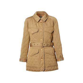 Стеганая полевая куртка Kemble с поясом Burberry