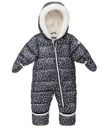 Комбинезон с леопардовым принтом для маленьких девочек Michael Kors