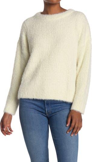 Укороченный свитер с круглым вырезом FRNCH
