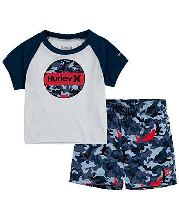 Набор для плавания с приманкой для акулы для маленьких мальчиков Hurley