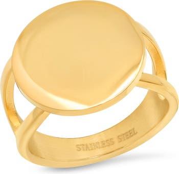 Круг кольцо HMY Jewelry