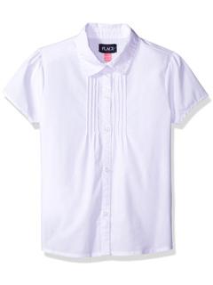Uniform Short Sleeve Blouse (Little Kids/Big Kids) The Children's Place
