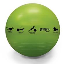 Prism Fitness 65cm/23in Smart Self-Guided Fitness Stability Exercise Ball, Green PRISM FITNESS