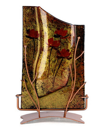 "14 ""x 8"" прямоугольная ваза Jasmine Art Glass"