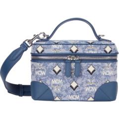 Маленькая сумка через плечо Vintage Jacquard MCM