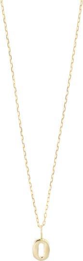 Ожерелье с подвеской из 14-каратного золота с миниатюрными цифрами - доступно несколько номеров Bony Levy