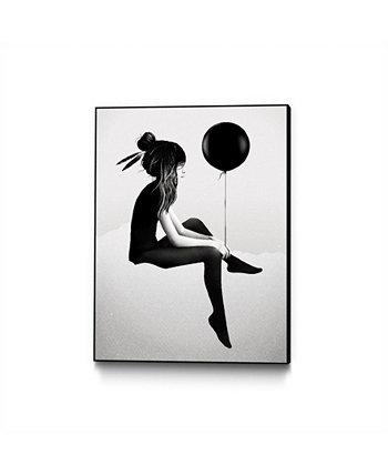 """Рубен Айрленд Холст с художественным блоком в рамке 33 """"x 44"""" Eyes On Walls"""