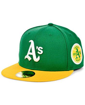 Oakland Athletics World Series Patch 59FIFTY Cap New Era