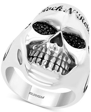 EFFY®® Мужское черное кольцо Spinel Rock n 'Roll из чистого серебра EFFY Collection