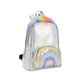 Рюкзак из искусственного меха Kid's Kaite Rainbow Under One Sky