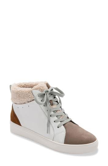Водонепроницаемые кроссовки средней длины с искусственным мехом Gulia Blondo