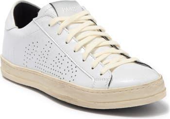 Кроссовки из перфорированной кожи John P448