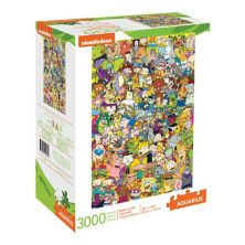 Водолей 90-е Nickelodeon Cartoon Пазл из 3000 деталей Aquarius