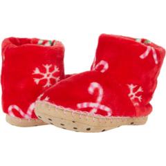 Candy Cane Fleece Slippers (Toddler/Little Kid) Hatley Kids
