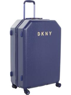 28-дюймовая металлическая стойка с логотипом на жесткой стороне DKNY