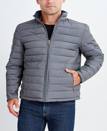 Двусторонняя мужская куртка из эластичного стретча для больших и высоких Nautica