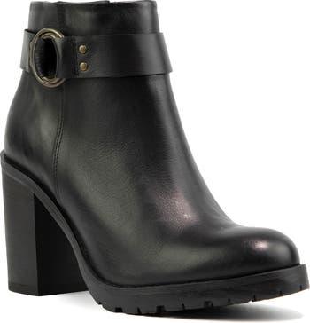 Kathryn Block Heel Boot Crevo