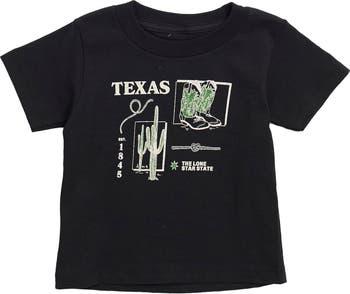 Texas Squares Graphic T-Shirt Kid Dangerous