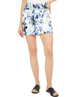 Синяя юбка без застежки Bayou Elliott Lauren