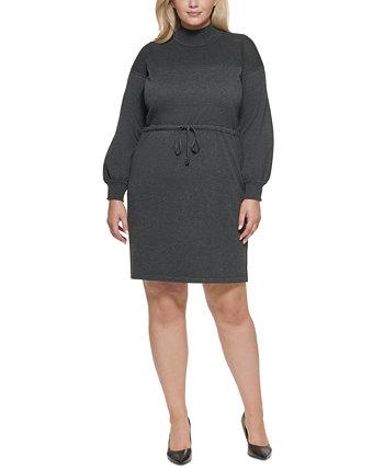 Платье-свитер больших размеров Calvin Klein