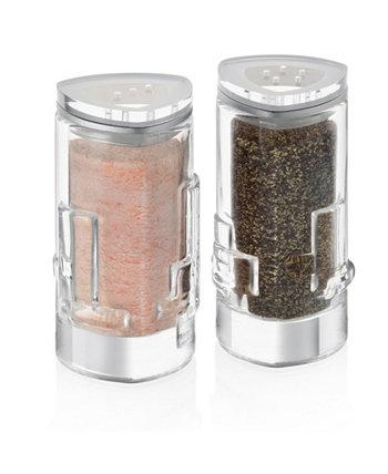 Стеклянный шейкер для соли и перца Revere, набор из 2 шт. JoyJolt