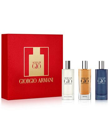 Мужские 3 шт. Подарочный набор Acqua di Giò Discovery Giorgio Armani