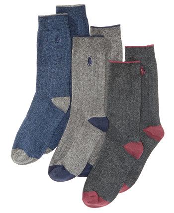 3-Рк. Носки в рубчик, Маленькие мальчики и большие мальчики Ralph Lauren