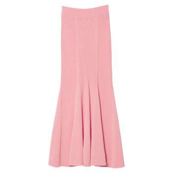 Плетеная юбка-годе в рубчик Carolina Herrera