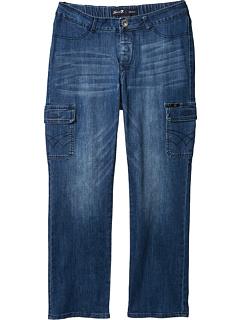 Классические прямые джинсы Seated Classic с магнитной застежкой и карманами на бедрах цвета Peyre Medium Seven7