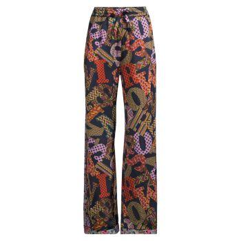 Пижамные штаны с логотипом M Missoni