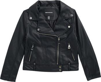 Мотоциклетная куртка из искусственной кожи Urban Republic