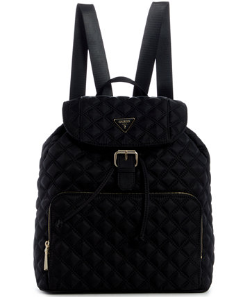 Jaxi Large Quilted Backpack GUESS