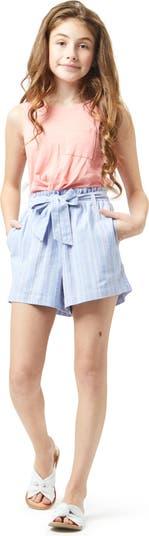 Stripe Pull-On Shorts HABITUAL girl