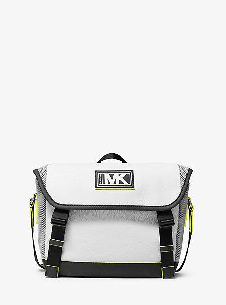 Велосипедная сумка Cooper из шагреневой кожи и сетки Michael Kors