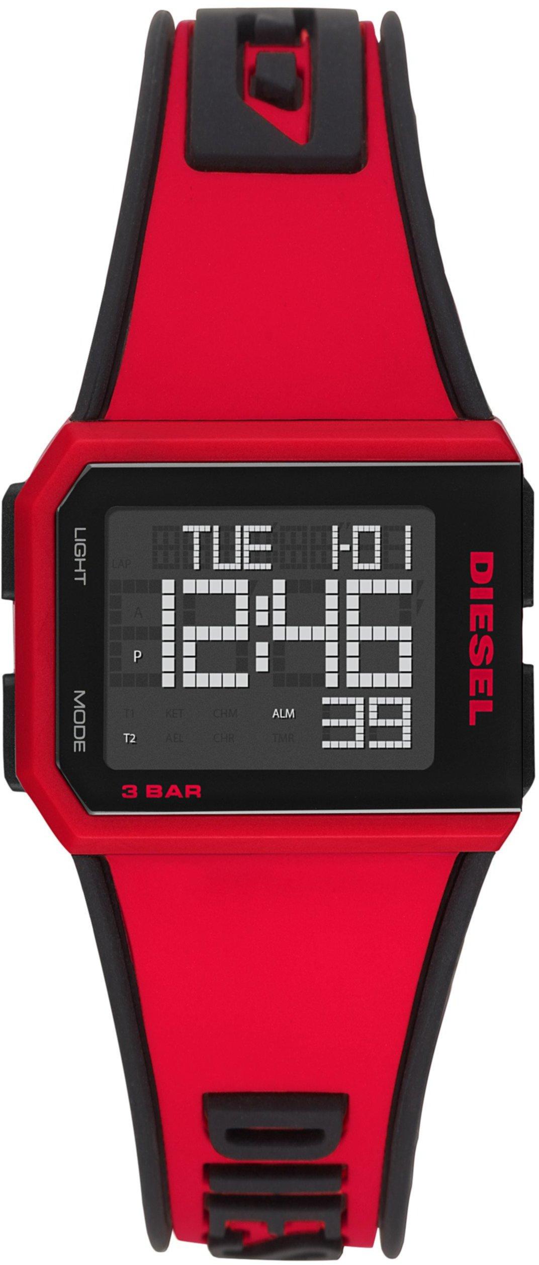 Нарезанные цифровые часы Diesel